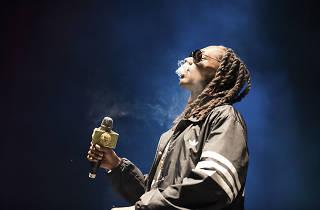 Snoop Dogg at Riot Fest