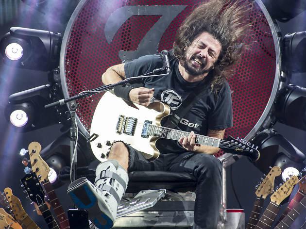 Os Foo Fighters tocam no NOS Alive em Julho de 2017