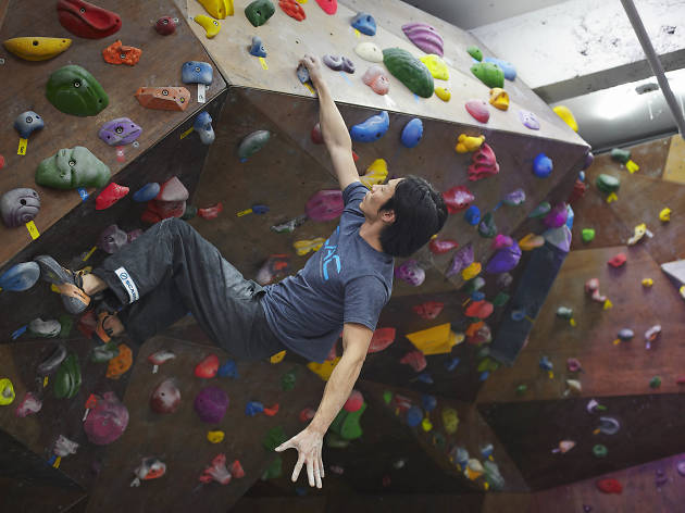 Joy in the suffering, Sports Climbing