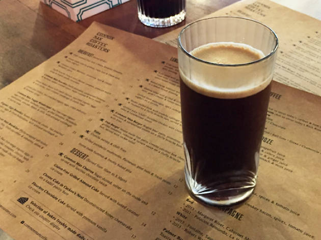 Nitro Cold Brew, $7 at Common Man Coffee Roasters