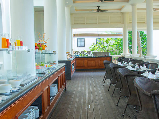Lunch buffet at The Verandah