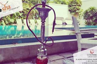 Shisha at Cloud Café and Amber poolside