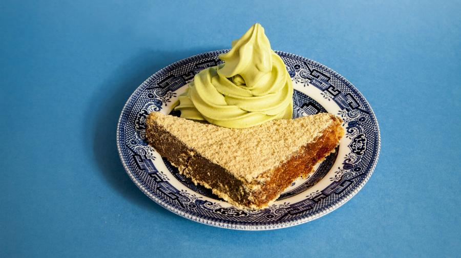 Kinako French toast with softserve ice cream at Shackfuyu