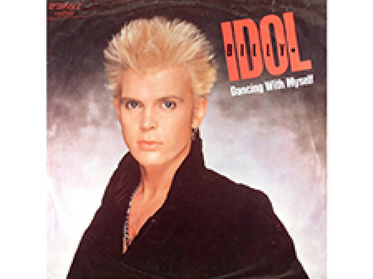 """""""Dancing With Myself"""" by Billy Idol"""