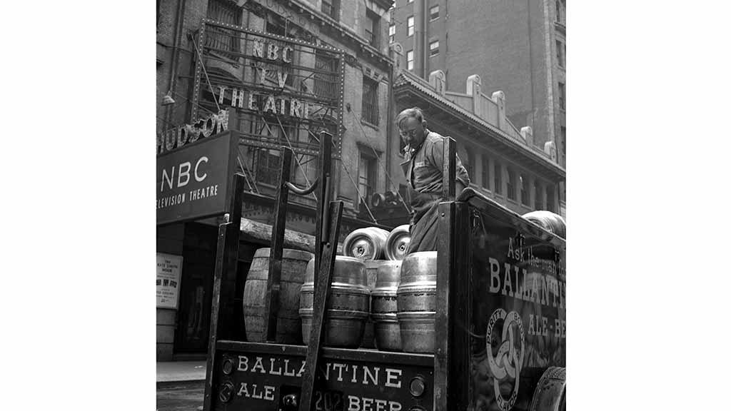 Beer Truck at NBC Theatre Frank Oscar Larson