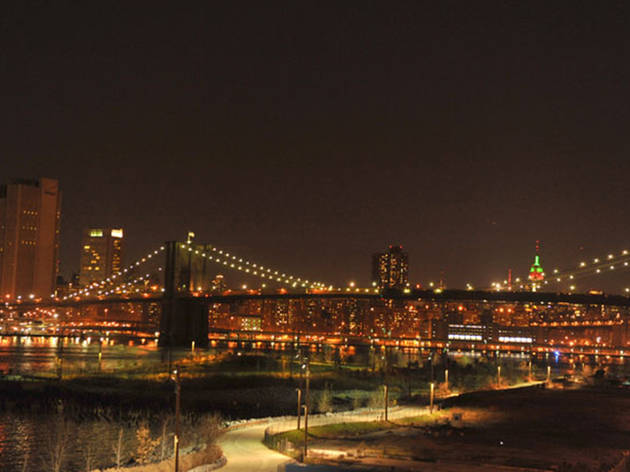 Dr. Phil's Brooklyn Bridge Walk Into the New Year