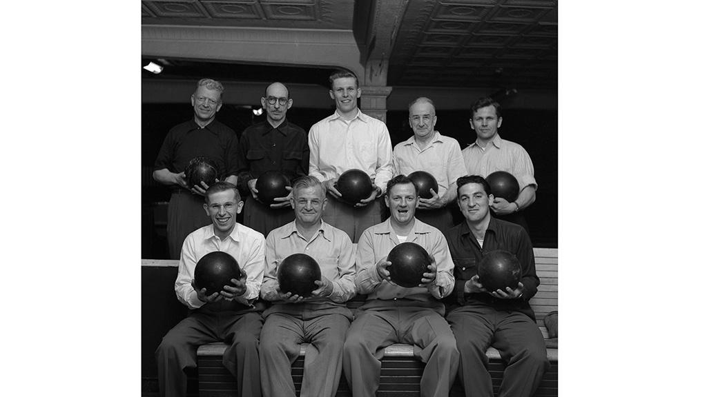 Frank's Bowling Team  Frank Oscar Larson