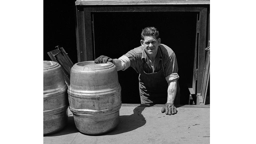 Handling Kegs  Frank Oscar Larson