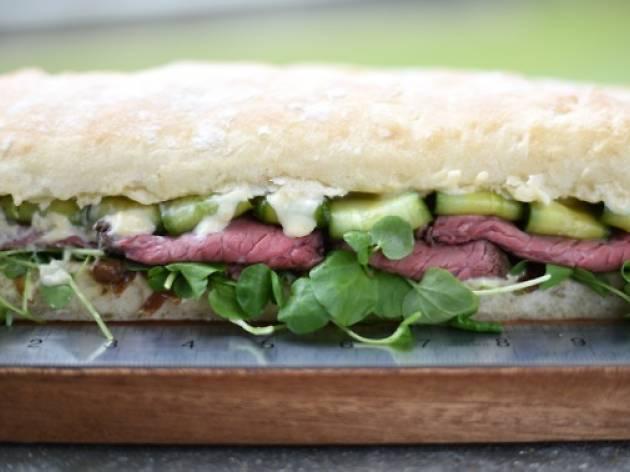 Street Kitchen sandwich