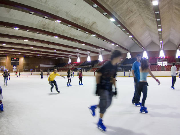 Pista de gel Barça