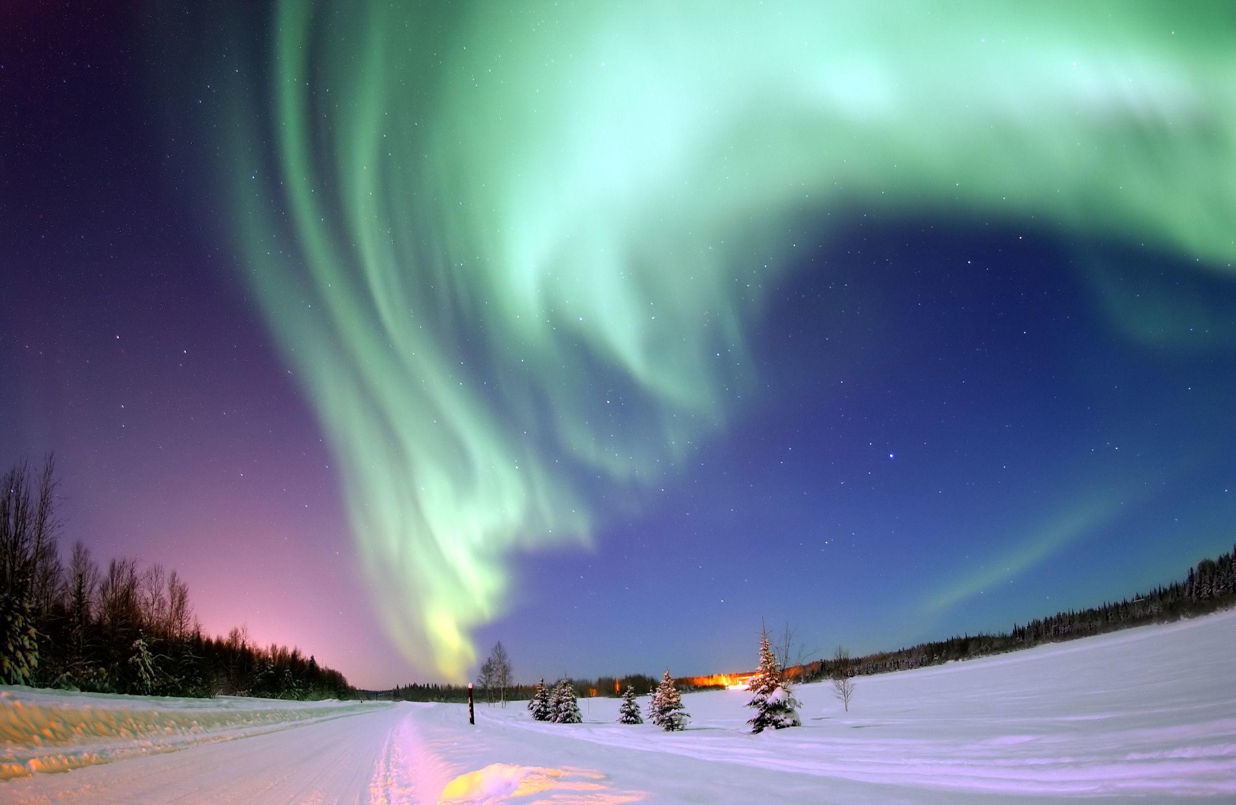 Kuzey Işıkları'nın izinde