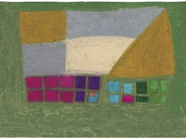 untitled, 1982 wax crayon on paper, 26,7 x 37,9 cm