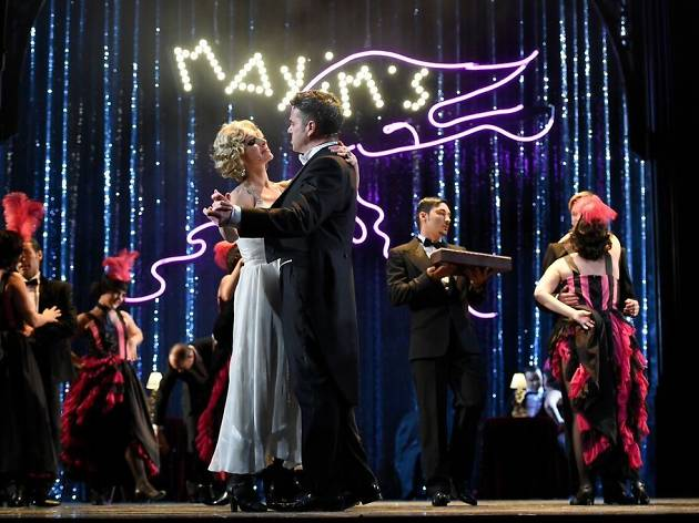 La viuda alegre, el musical