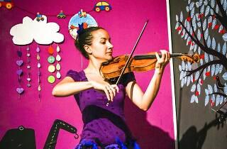 Historia de un violín. Las estrellas bailan Brahms