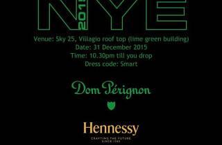 NYE 2015 at Sky 25