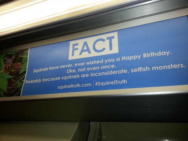 Squirrelly ads on the CTA