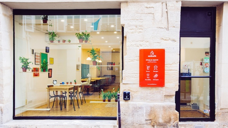 Anticafé - Beaubourg