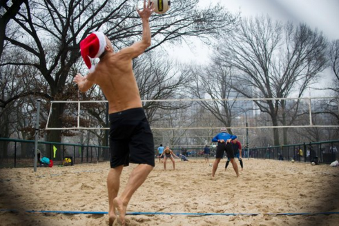 Nine insane photos of the warmest Christmas in New York ever