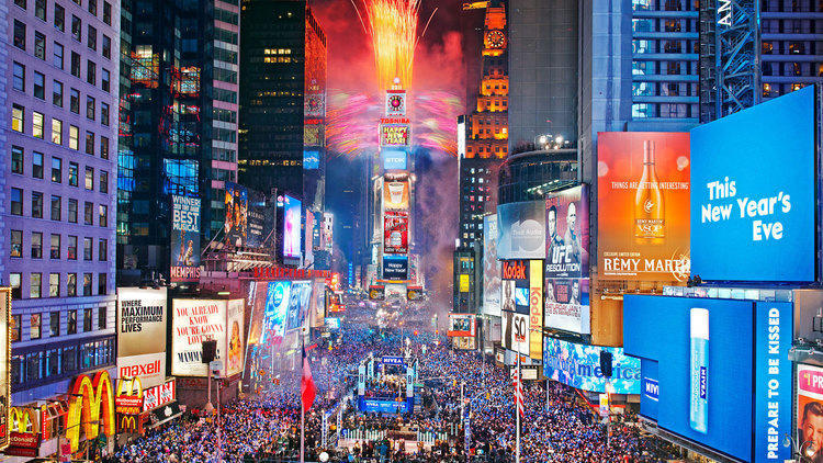 Where to see New Year's Eve fireworks