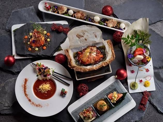 Manmaru Robatayaki & Bar New Year omakase