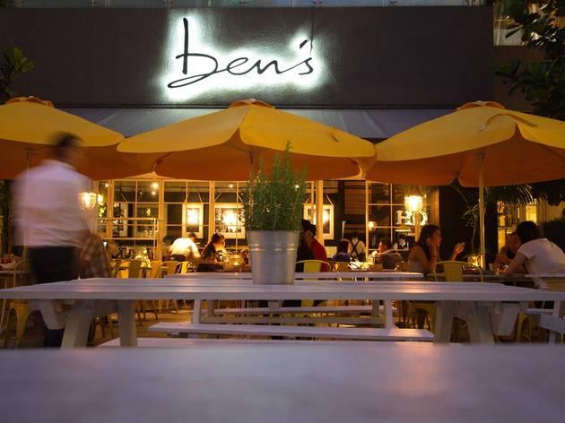 Ben's Publika New Year's Eve dinner