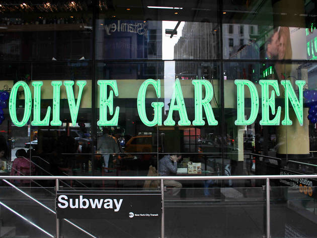 Spending New Year's Eve at the Times Square Olive Garden will set you back a mere $400