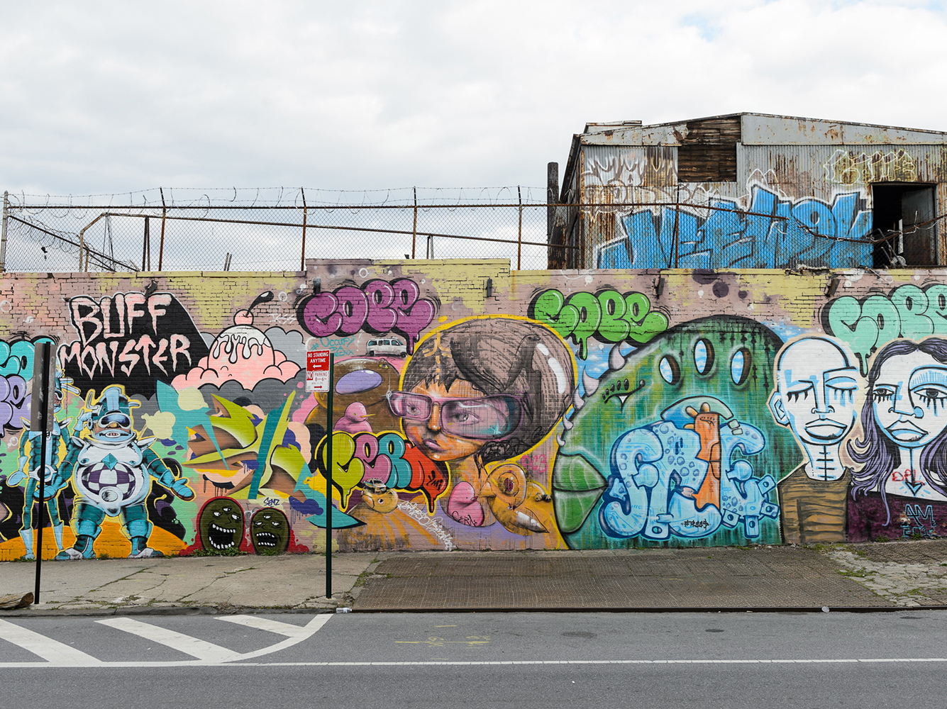 Graffiti wall pictures - Bronx Wall Of Fame