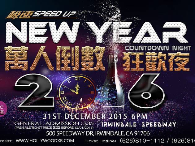 New Year's Eve at Irwindale Speedway