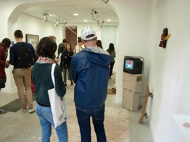 Les nouvelles galeries d'art parisiennes