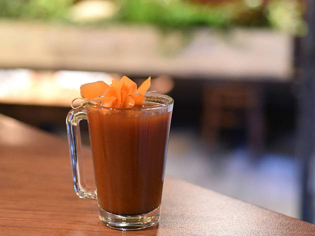 Warm Tzimmes Punch at Timna