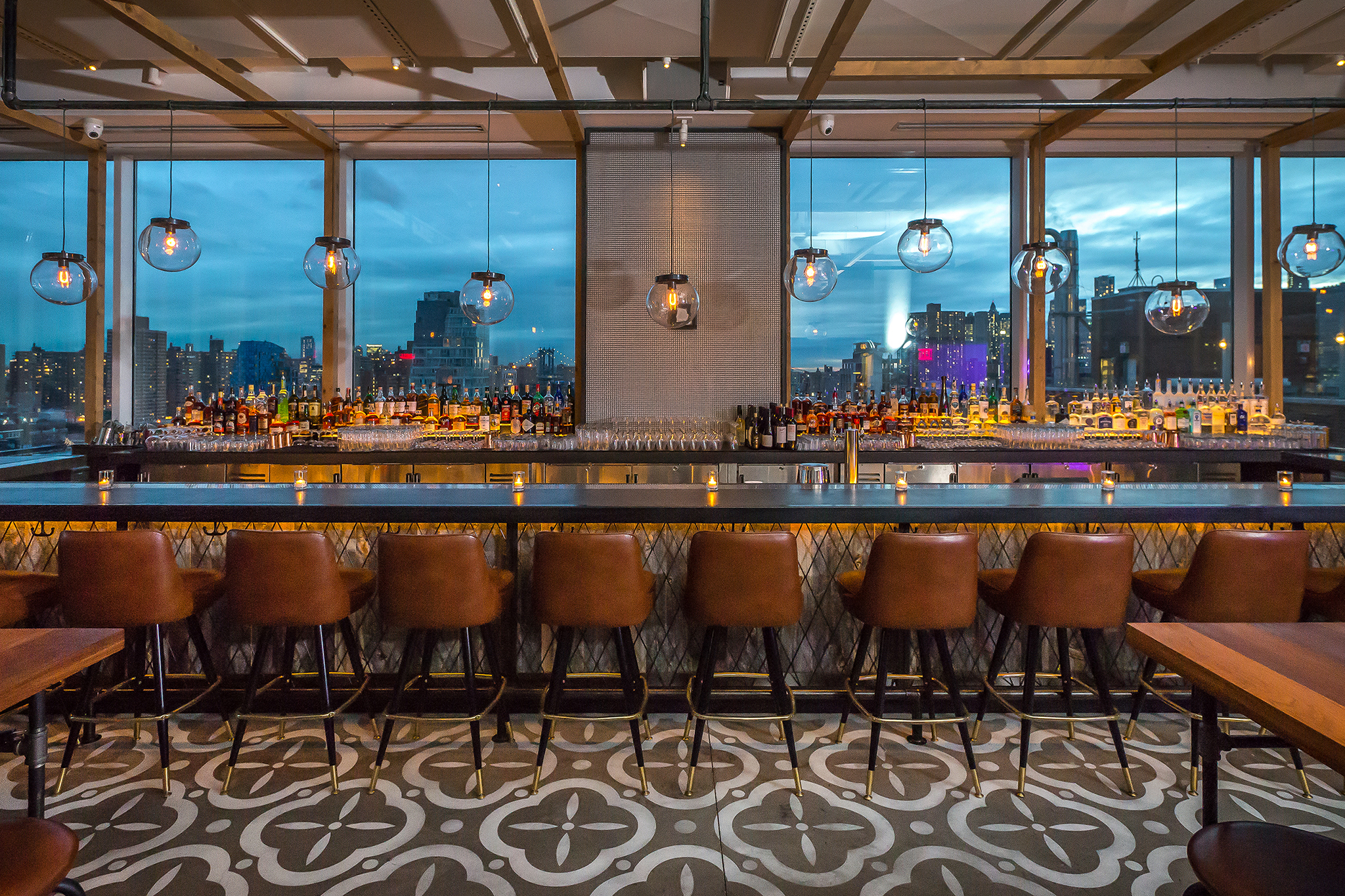 The best NYC rooftop bars open during the winter