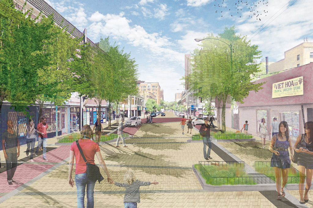 Argyle will become the city's first shared street
