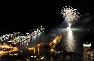 Navy Pier, New Year's, fireworks