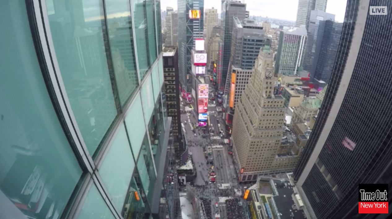 Watch a livestream of Times Square on New Year's Eve!