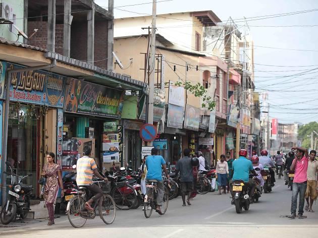 Jaffna town, fort