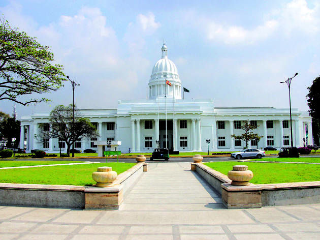 The Town Hall in Colombo 7