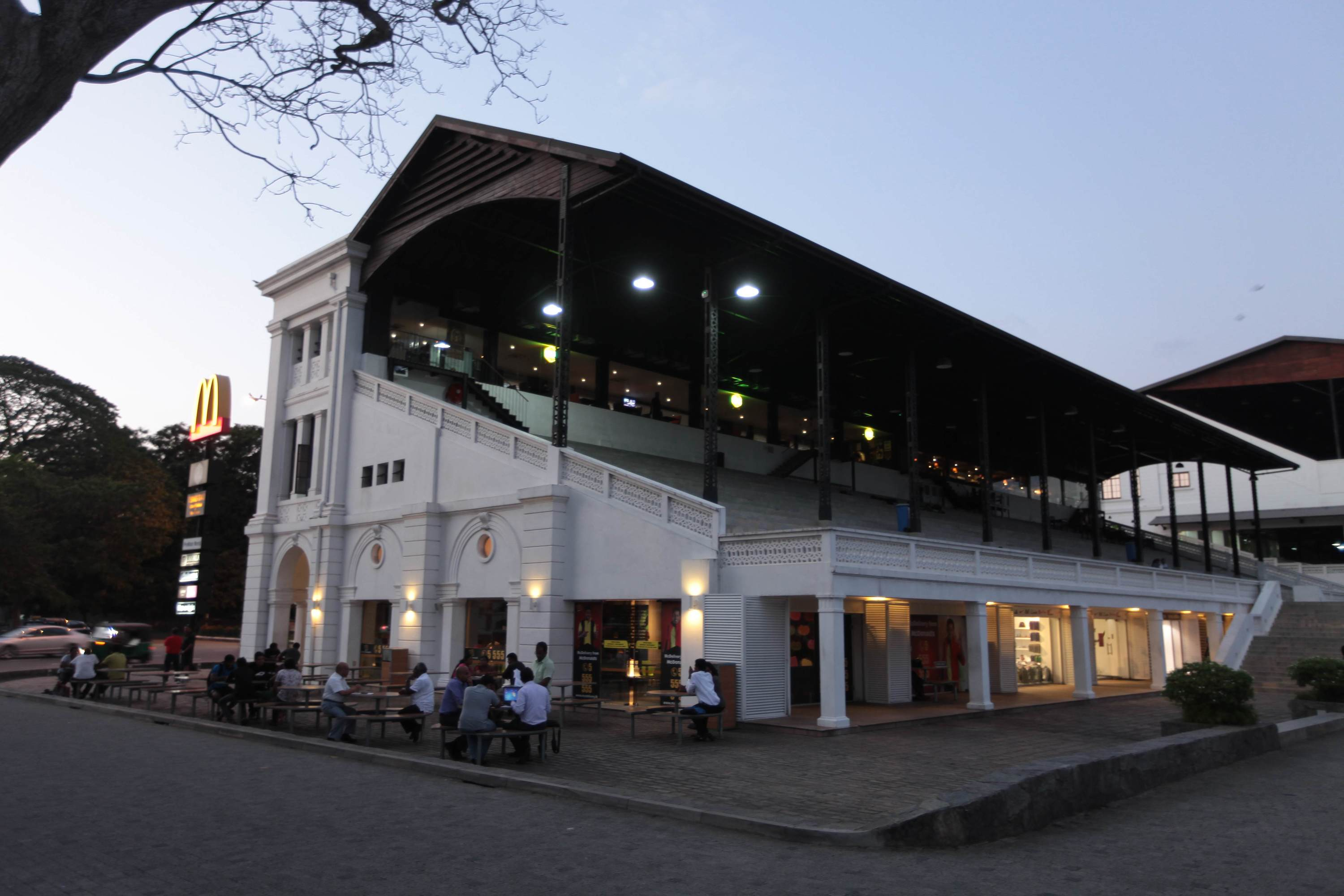 The Racecourse in Colombo 7