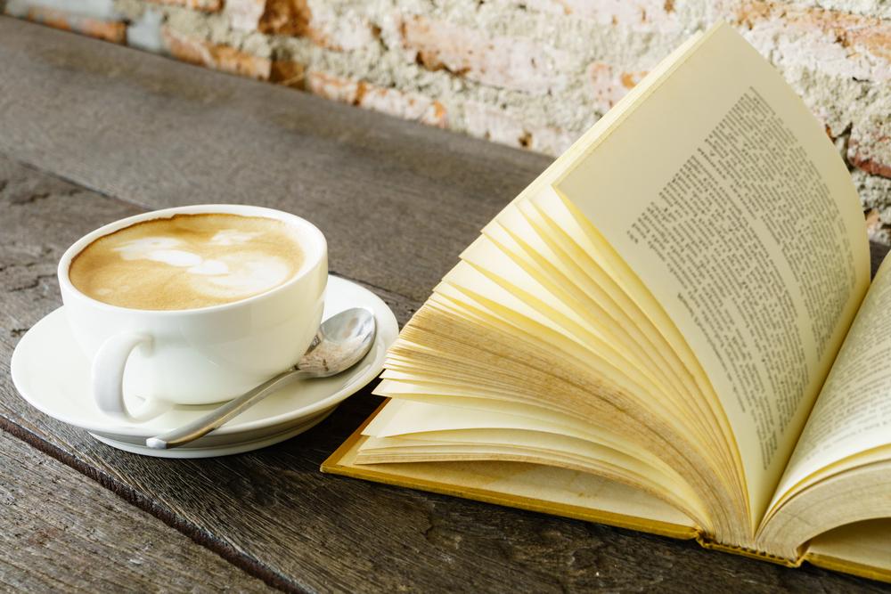 Café y libro