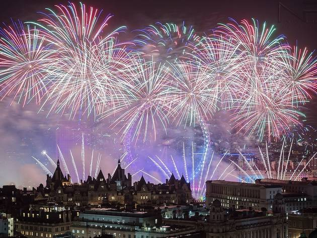 Bonfire Night displays in London