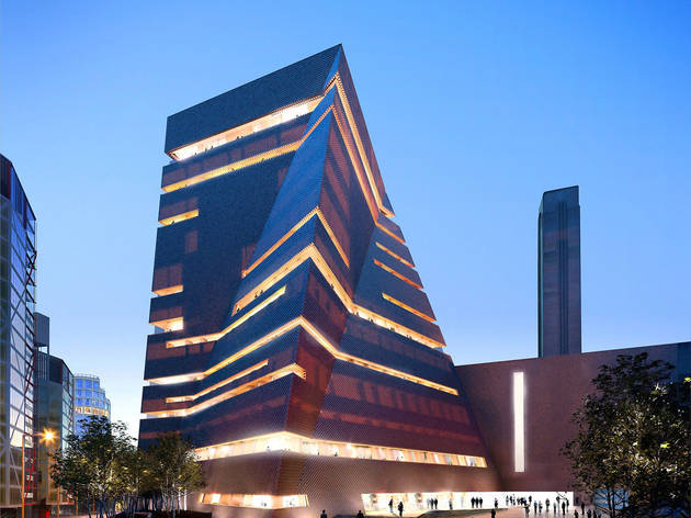 The unveiling of the new Tate Modern