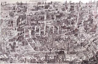 """Courttney Cooper, """"Cincinnati Map"""""""