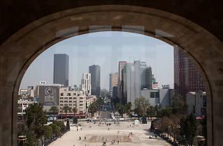 14 de febrero en el Mirador del Monumento a la Revolución