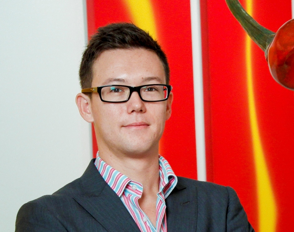 Ben Hampe, co-owner and director of Chan Hampe Galleries