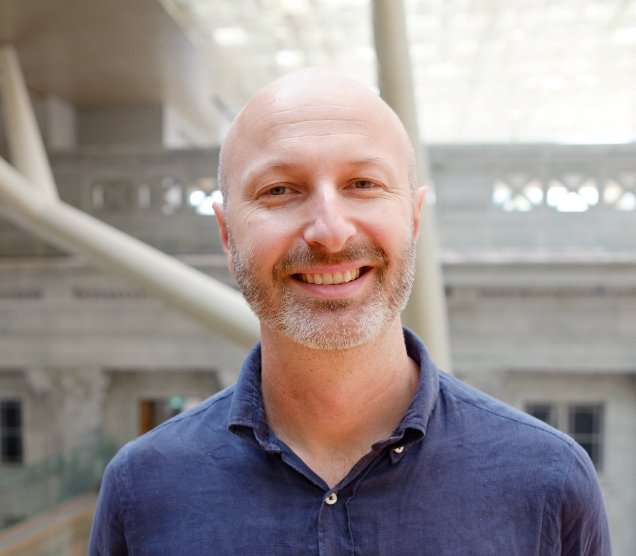 Russell Storer, senior curator at the National Gallery Singapore