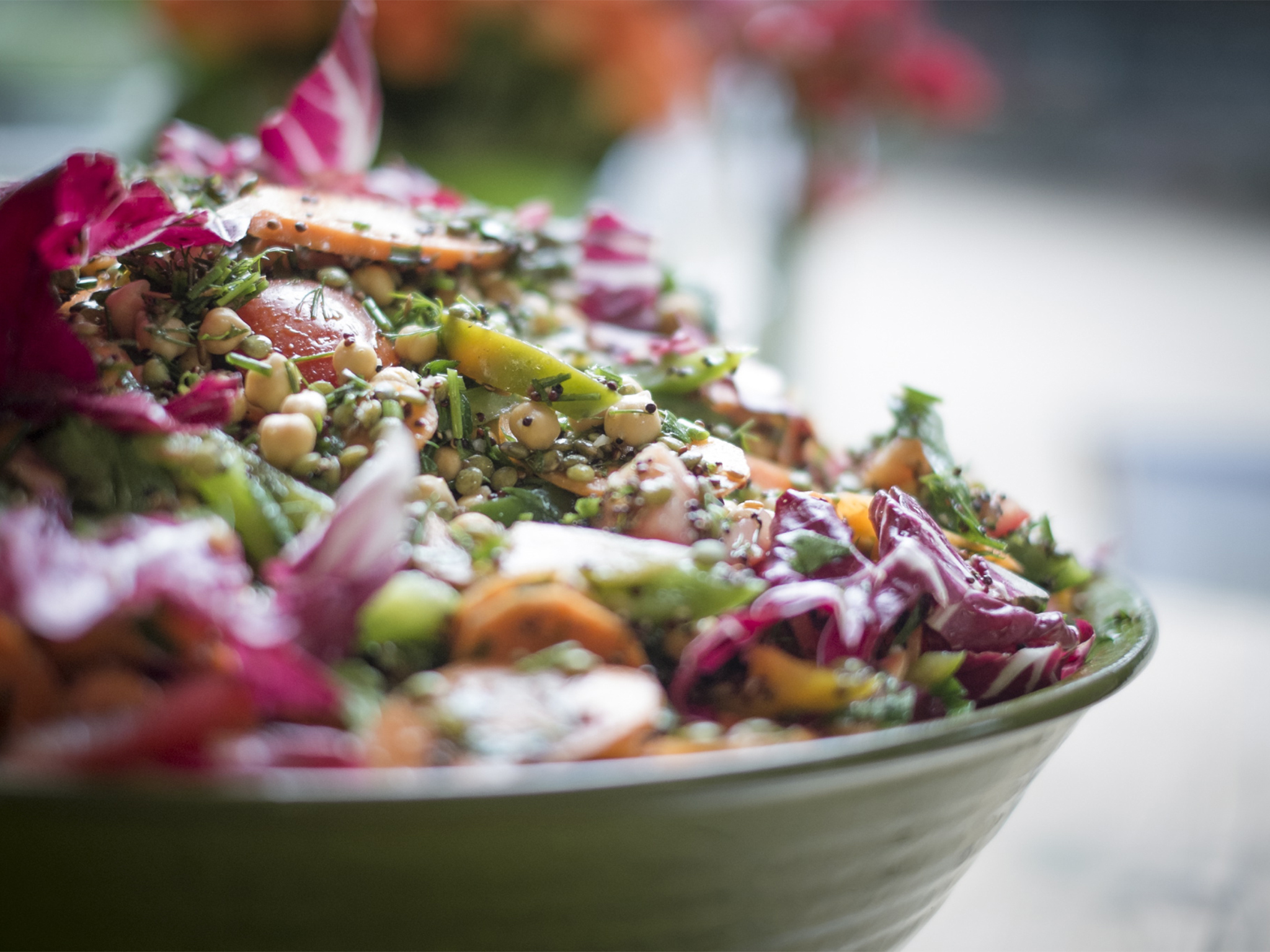 healthy restaurants in London, beany green