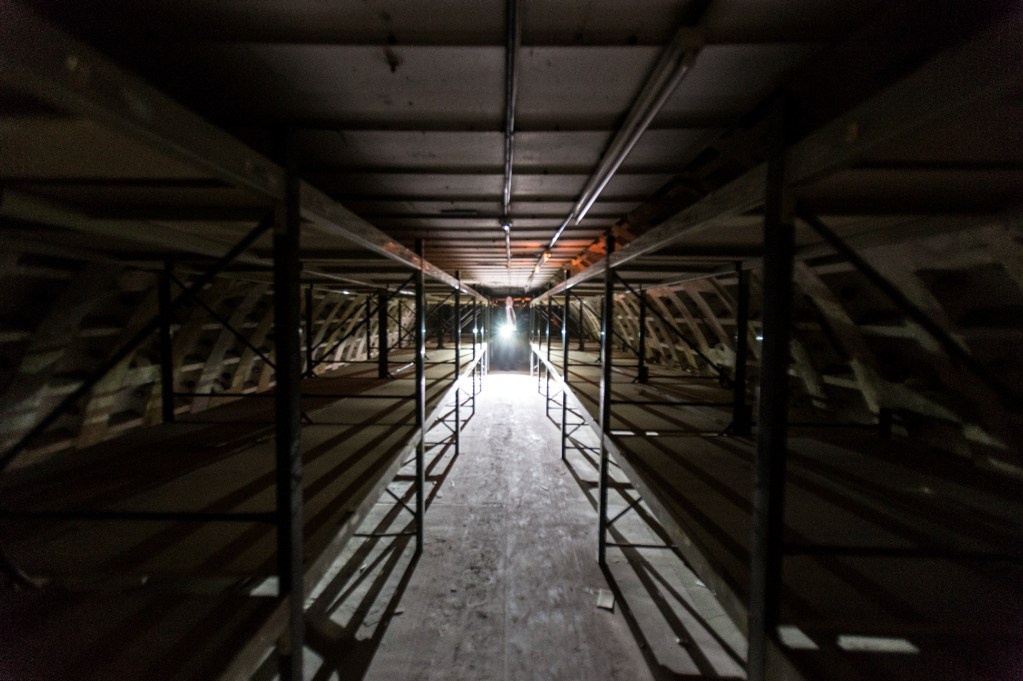 Exclusive: inside Clapham South's secret wartime tunnels