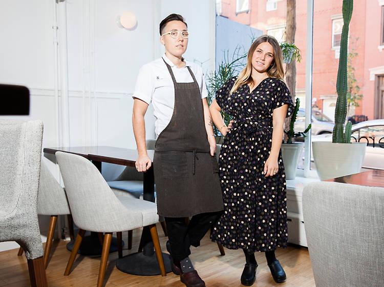 Anna Hieronimus, 28, and Elise Kornack, 29, restaurateurs