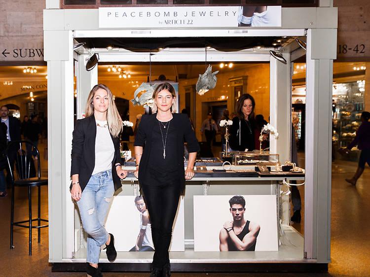 Elizabeth Suda, 32, and Camille Hautefort, 31, designers