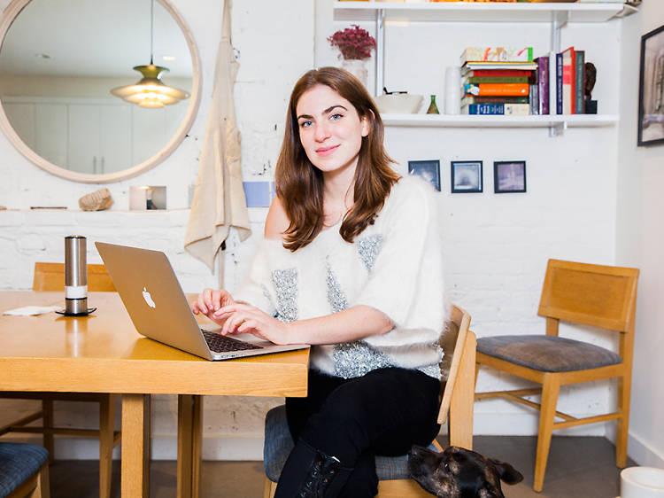 Ruby Rae Spiegel, 22, playwright