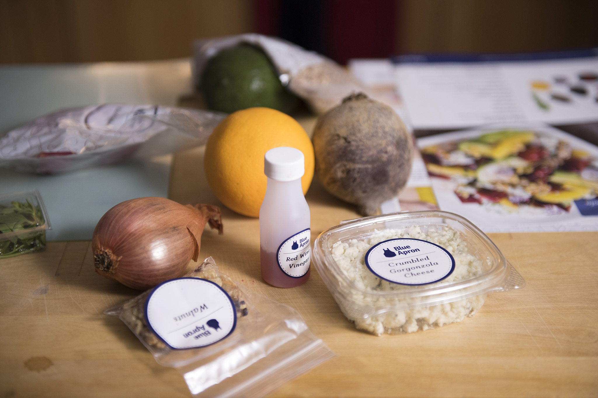 No small feast with Blue Apron